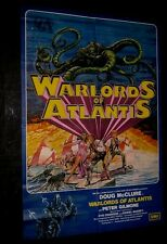 Original WARLORDS OF ATLANTIS British 1 sheet  Doug McClure