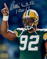 REGGIE WHITE SIGNED PHOTO 8X10 RP AUTOGRAPHED GREEN BAY PACKERS