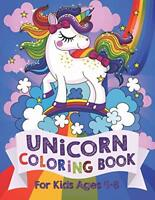 Unicorn Coloring Book: For Kids Ages 4-8 (US Edition) - Paperback -2018