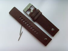 Diesel original LW pulsera de cuero dz7339 uhrband marrón watch Strap Brown