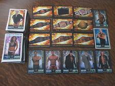 lot de plus de 180 cartes slam attax WWE