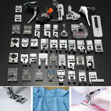 42PCS Domestic Sewing Machine Presser Foot Feet Set For Brother Janome Singer
