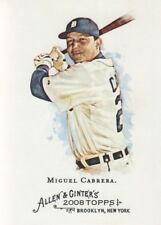 2008 Topps Allen & Ginter Baseball #30 Miguel Cabrera Detroit Tigers