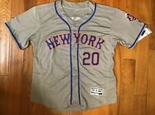 Pete Alonso #20 New York Mets Grey Alternate Jersey  NWT FlexBase Large