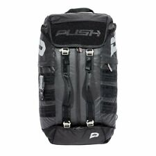Push Division One Gearbag Paintball Gear Bag - Black w/ Black Straps