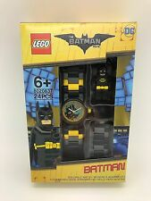 LEGO The Batman Movie Batman With Mini-Figure Link Kids Watch 8020837 New