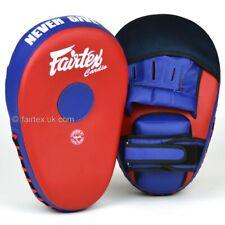 Fairtex Focus Mitt Muay Thai Speed Pad Boxing Curved Striking Mitts Target Pads