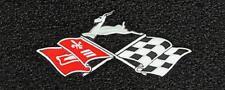 Lloyd Mats Chevrolet Impala Cross Flags Velourtex Front Floor Mats (1961-1964)