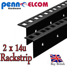 14u Rackstrip,data strip,servers rack strip flightcase