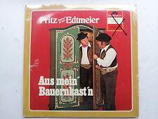 Fritz Edtmeier - Aus mein Bauernkastn  LP