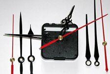 Uhrwerk leise lautlos Schleppendes Uhrwerk Still ohne Ticken 3 Zeiger Sets NEU