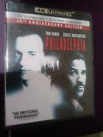 NEW Philadelphia 25th Anniversary Edition (4K Ultra HD Blu-ray Digital ) Sealed!