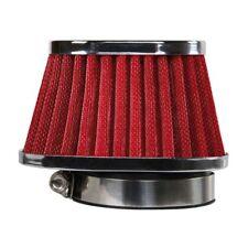 Filtro Aria aspirazione diretta Conico universale attacco 60mm Rosso LAMPA