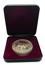 1$ Canada 1985 Silver National Parks Silver Coin # 143 QEII From 1$
