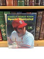 Sports Illustrated ~ April 10 1972 ~ St Louis Cardinals Joe Torre ~ Sleeved