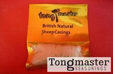 Natural pecore Salsiccia Involucri pelli 22 / 24mm-rendono chipolata SALSICCE