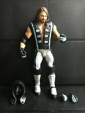 WWE Mattel AJ Styles Top Talent 2018 Elite Series figure loose