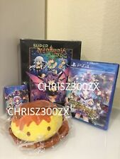 Super Neptunia RPG Limited Edition PS4 Collector's + Reversible Cover 2019 USA