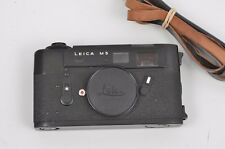 EXC++ LEICA M5 BLACK BODY, STRAP, CAP, VERY CLEAN, TESTED, NICE!