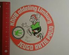 Aufkleber/Sticker: KNVB afd Limburg Jeugdaktie Polio (261216109)