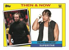 WWE 2015 HERITAGE Trading Card THEN & NOW Sub Set of 30