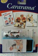 DIECAST MODEL CAR WHITE FORD FOCUS  PEPSI COLA TIN BOX HONGWELL CARARAMA