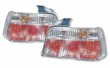 BMW 92-98 E36 4dr 4 Door Euro All Clear Red Lens Tail Light Lamp Taillights
