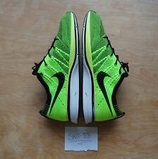 Nike - Flyknit Trainer+ - Volt/Black - US12.5/UK11.5, Pre-owned.