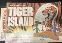 The Game Of Tiger Island 1966 Ideal Toy Board 31817 2618-7 Vintage Rare Parts
