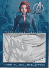 Scarlett Johansson authentic custom cut cert autograph auto card GA COA