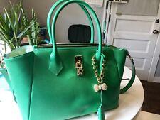 Samantha Thavasa Petit Choice Green Cross Body Bag Purse