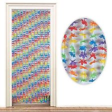 2m Tropical Hawaiian Door Curtain Decoration Hibiscus Flower Beach Hippy Party