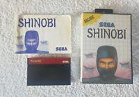 Shinobi (Sega Master system 1988)  complete region free
