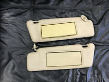 Mercedes W124 Parchment sun visors set Right & Left, used