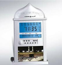 Autometic Islamic AZAN CLOCK Alarm Desk WALL Hijri Calendar WATCH Qibla HOT