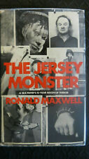The Jersey Monster Ronald Maxwell 1972 First Edition True Crime Interest