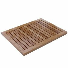 Oceanstar Fm1163 Bamboo Floor and Shower Mat , New, Free Shipping