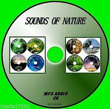 Sonidos De Naturaleza Mp3 Cd 8 calmante pistas Ballenas Delfines Selva Ballenas Delfines +