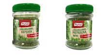 PRYMAT - FREEZE-DRIED HERBS - 15G - LYOPHILIZED - DILL - PARSLEY POLISH COOKING