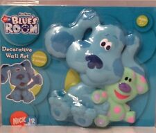 NEW Blue's Clues Dog & Roar Saurus Dinosaur 3-D Child' Wall Room Art Decoration