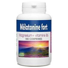 Mélatonine Fort - 1,8 mg - 180 comprimés