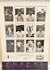 Tottenham Hotspur FA Cup Kings 1967 Large Poster Signed by Dave Mackay
