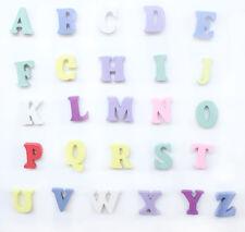 "120 Mixed Colors Alphabet ""A-Z"" Shape Wood Sewing Scrapbooking K003"