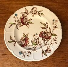 Johnson Brothers Windsor Ware Warwick Brown Multicolor Salad Plate 8""