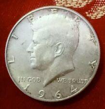 1964 USA 🇺🇸 Kennedy Half Dollar Coin. 90% Silver