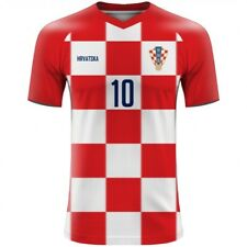 WORLD CUP 2018 Croatia Hrvatska Football Fan Jersey MODRIC MANDZUKIC RAKITIC