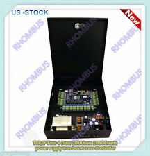 TCP/IP Four 4 Door 20K Users power supply iron box Access Controller/US-STOCK