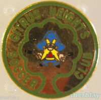 VTG Soccer Ball Sports CITRUS HEIGHTS SOCCER CLUB 80's Hat Pin Badge Pinback