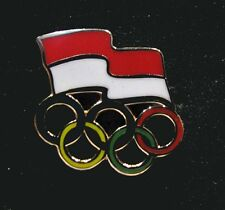 NEW Rio Olympic INDONESIA NOC Internal team - delegation NEW LOGO pin