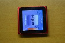 Apple iPod nano 6th Generation (PRODUCT) RED (8GB) - Sold with minor defect